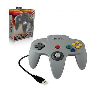 Control Nintendo 64 N64 Retrolink Pc Windows Y Mac Usb Gris