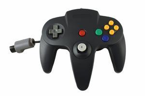 Control Para Nintendo 64 N64 Nuevo De Paquete Ttx Tech Negro