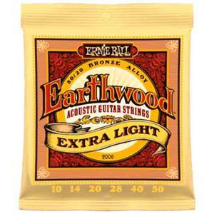 Encordado Para Guitarra Earthwood Xlight Ernie Ball