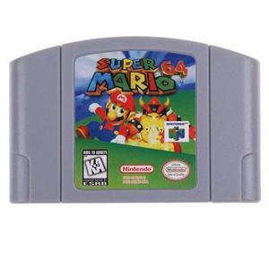 Nuevo Para Nintendo 64 N64 Game Card Super Mario 64 Video Ca