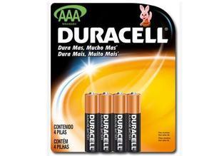 Pila Bateria Aaa 4 Piezas Duracell Eveready/var