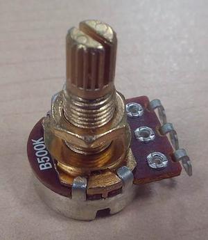 Potenciómetro Guitarra, Bajo Calidad Superior Oro 250 Y