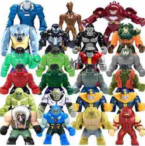 1 Unidad Megas Super Heroes Compatibles Con Lego
