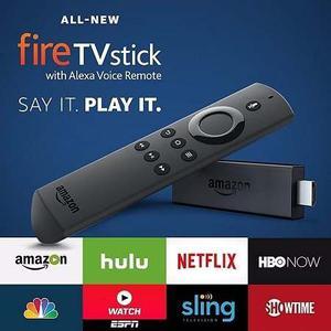 Amazon Fire Tv Stick Con Alexa Voice + 1 Mes Programacion