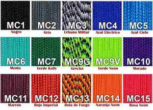 Cuerda Micro Cord De 1.18 Mm Nylon Varios Colores Por Metro