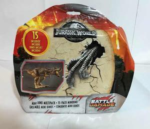 Figuras Jurassic World Fallen Kingdom Mini Dino Multipack