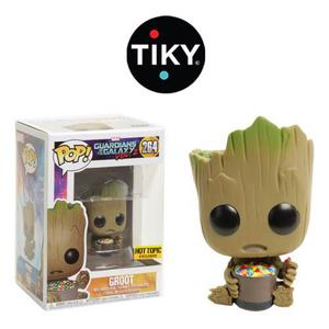 Funko Pop Baby Groot With Candy Sin Sticker Exclusivo