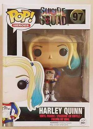 Harley Quinn 97 Funko Pop Heroes Dc Suicide Squad Escuadron