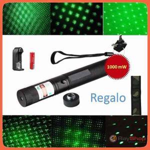 Laser Apuntador  Mw Recargable Prende Cerillos H303