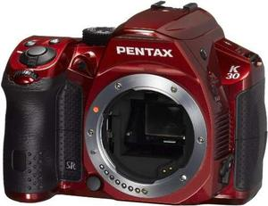 Pentax K- Mp Cmos Digital Slr Crystal Red [camera]