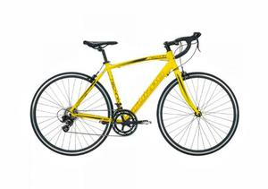 Bicicleta De Ruta De Aluminio Amarilla Turbo Technik Duales