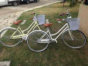 Bicicleta Vintage Clásica Retro Canasta Pedalé R26