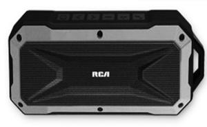 Bocina Inalambrica Portatil Marca Rca Bluetooth Aux Plata