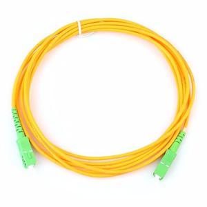 Cable Fibra Optica Para Modem Internet Sc Apc Simplex 5 Mts