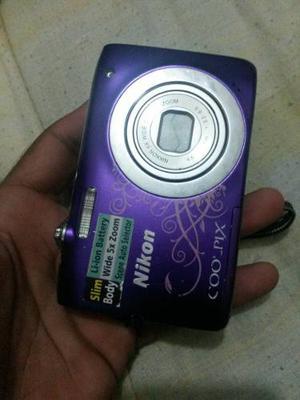 Camara Nikon Coolpix S