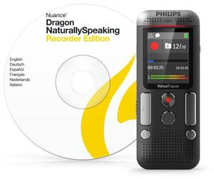 Grabadora Digital De Voz Philips Dvt Usb Mp3 8gb Dragon