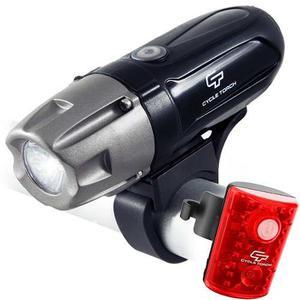 Luces Para Bicicleta Led Usb Luz Bici Delantera + Trasera