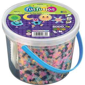 Perler Beads Cubeta C/ Glow In The Dark Bucket, 4 Bases