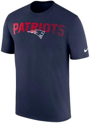 Playera Nike On Field Nfl New England Patriotas Brady
