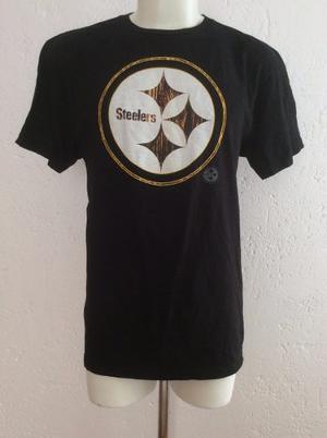 Playera Shirt Pittsburgh Steelers Majestic Triple Peak