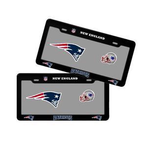 Porta Placas Nfl Colección New England Patriots Patriotas