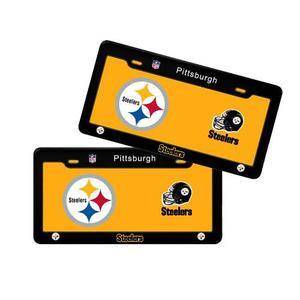 Porta Placas Nfl Colección Pittsburgh Steelers Acereros
