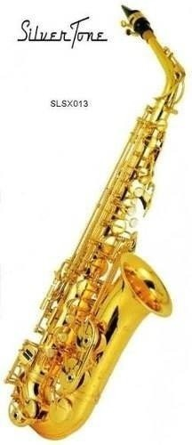 Saxofón Alto Silvertone