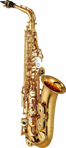 Yamaha Saxofon Alto Mi Bemol (eb) Yas480 Con Llave De Fa