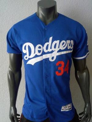 Jersey Beisbol Los Angeles Dodgers Valenzuela Mediana Adulto