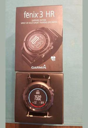 Reloj Garmin Fenix 3 Zafiro Hr Multideporte