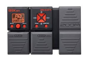 B1xon Zoom Procesador De Efectos Para Bajo Con Pedal De Expr