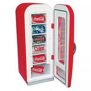 Frigobar Mini Refrigerador Personal Coca Cola
