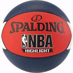 Balon Basketball Spalding Highlight No.7 / Piel Sintetica