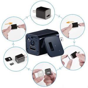Cargador Con Mini Camara Espia Y Microfono Envio Gratis