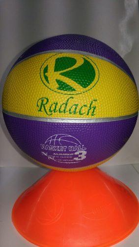 Paquete Balones Basquet Futbol Voleibol