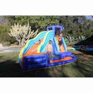 Slide Sportspower Grande De La Onda De Agua Inflable