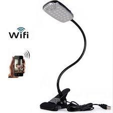 Wifi Espía Cámara Lámpara De Escritorio Oculto Cámara