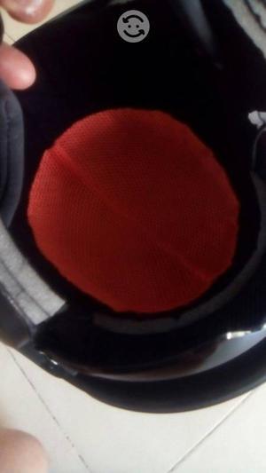 Casco 3/4 con lentes abatibles talla xl