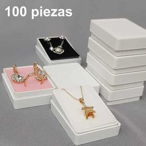 100 Cajas Plástica Para Juegos De Joyería 804