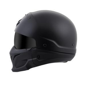 Casco Para Motocicleta Scorpion Covert 3-en-1 Negro Mate 3xl