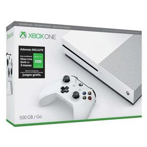 Consola Xbox One S 500gb Reconstruido+membresia Gold 3 Meses