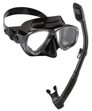 Cressi Equipo De Snorkel Máscara De Snorkel En Seco Con El