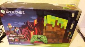 Xbox One S 1tb Edicion Minecraft Envio Incluido