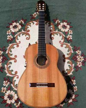 Guitarra Acustica Clasica De Concierto De Palo Escrito