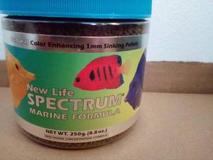 New Life Spectrum Marine Formula 250 Gr Pellet 1 Mm.
