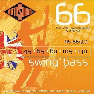 Rotosound Rs665ld Oscilación 66 De La Guitarra Baja Cuerdas