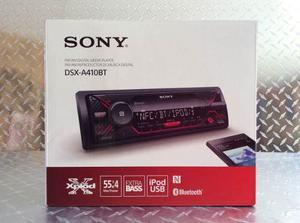 Auto Estéreo Sony Dsx-a410bt Bluetooth Usb Aux Fm-am