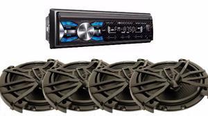 Autoestereo Soundstream Vm-23b Bluetooth Con 4 Bocinas 6.5
