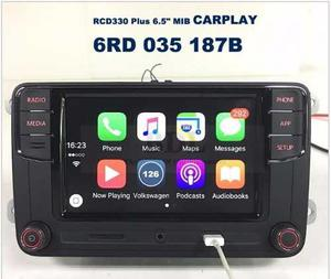 Estereo Vw Jetta Polo Vento Golf Rcd330 P Carplay + Camara