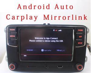 Estereo Vw Jetta Polo Vento Golf Tiguan Rcd330 Android Auto